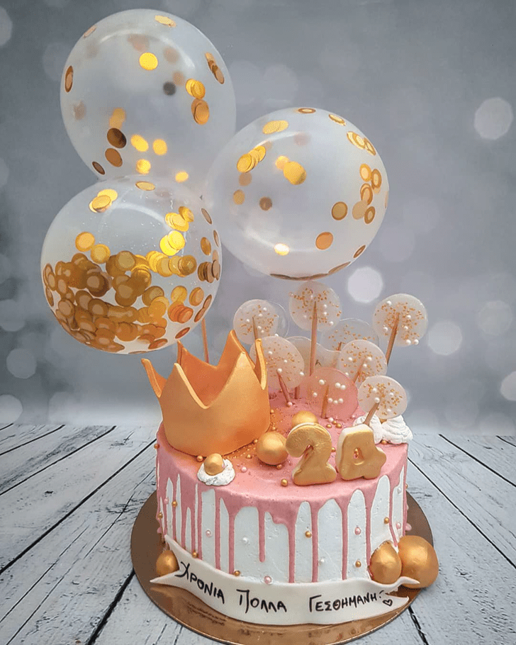 Fascinating Queen Cake