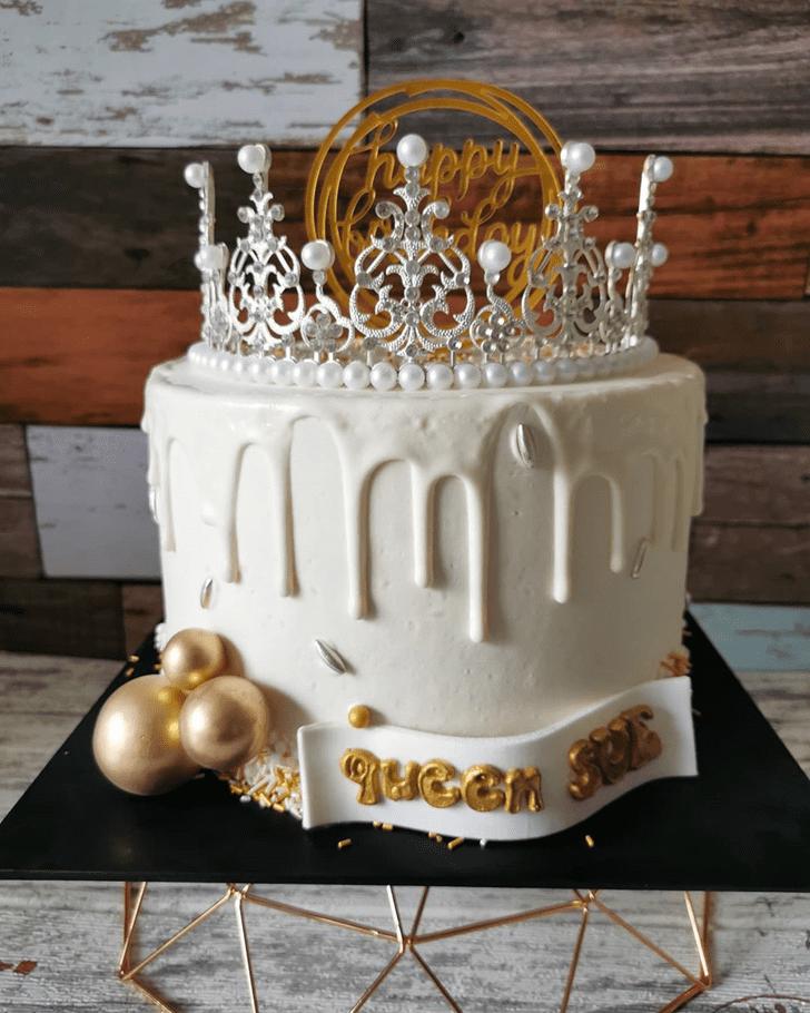 Handsome Queen Cake