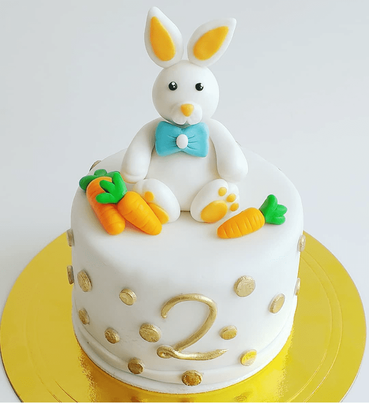 Adorable Rabbit Cake