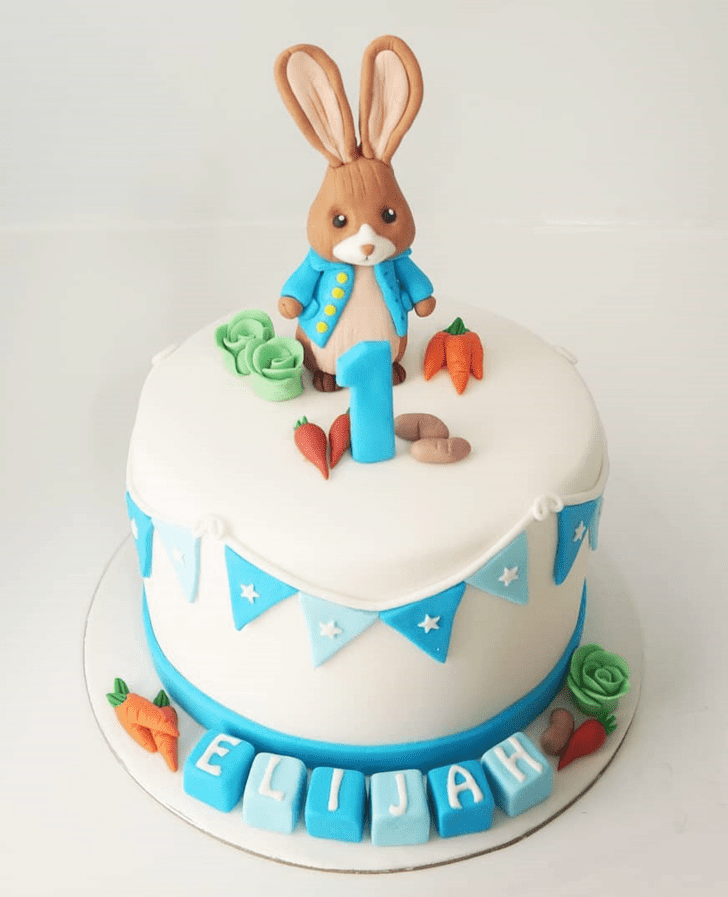 Captivating Rabbit Cake