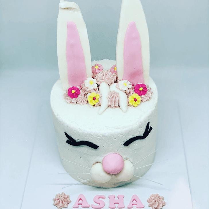 Charming Rabbit Cake