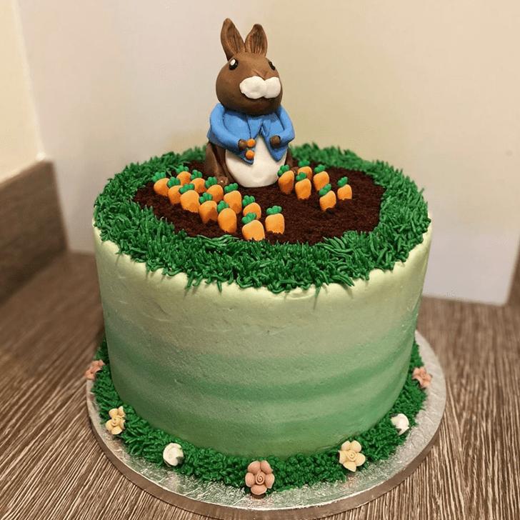 Fine Rabbit Cake