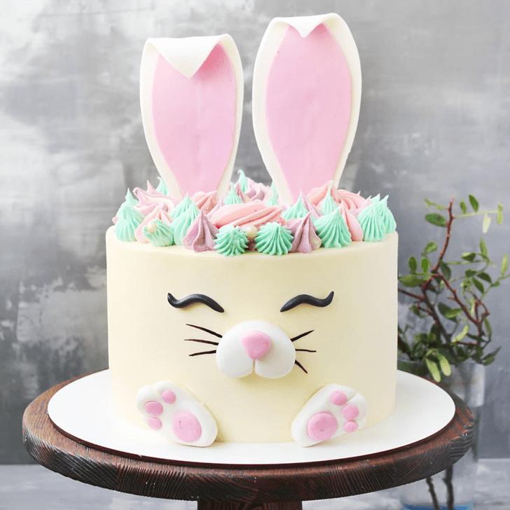 Graceful Rabbit Cake