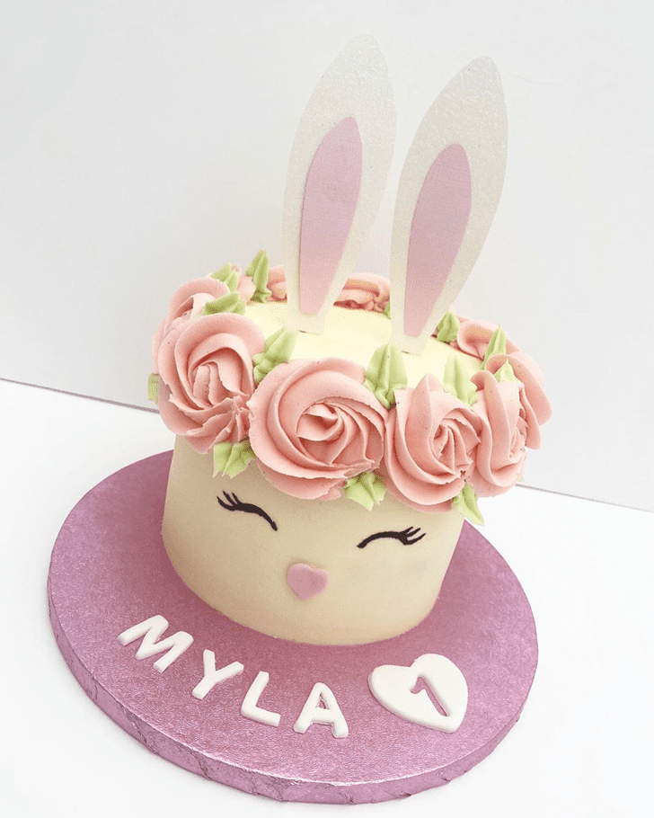 Handsome Rabbit Cake