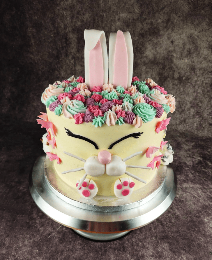 Lovely Rabbit Cake Design