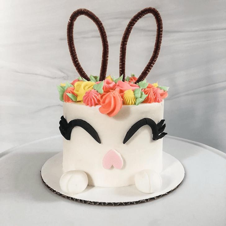 Magnetic Rabbit Cake