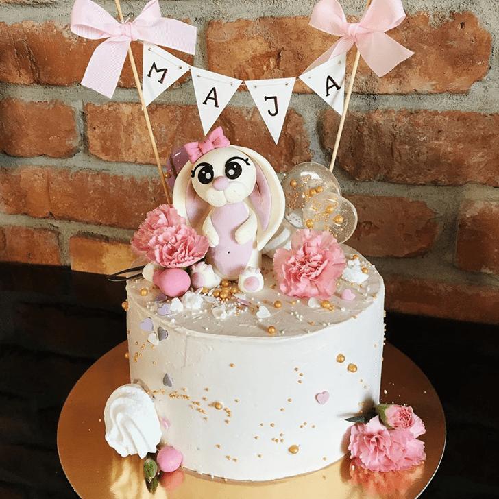 Nice Rabbit Cake