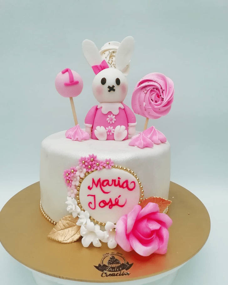 Radiant Rabbit Cake