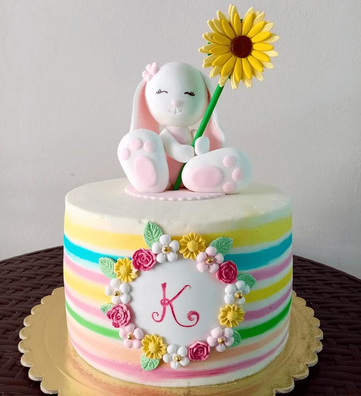 Elegant Rabbit Cake