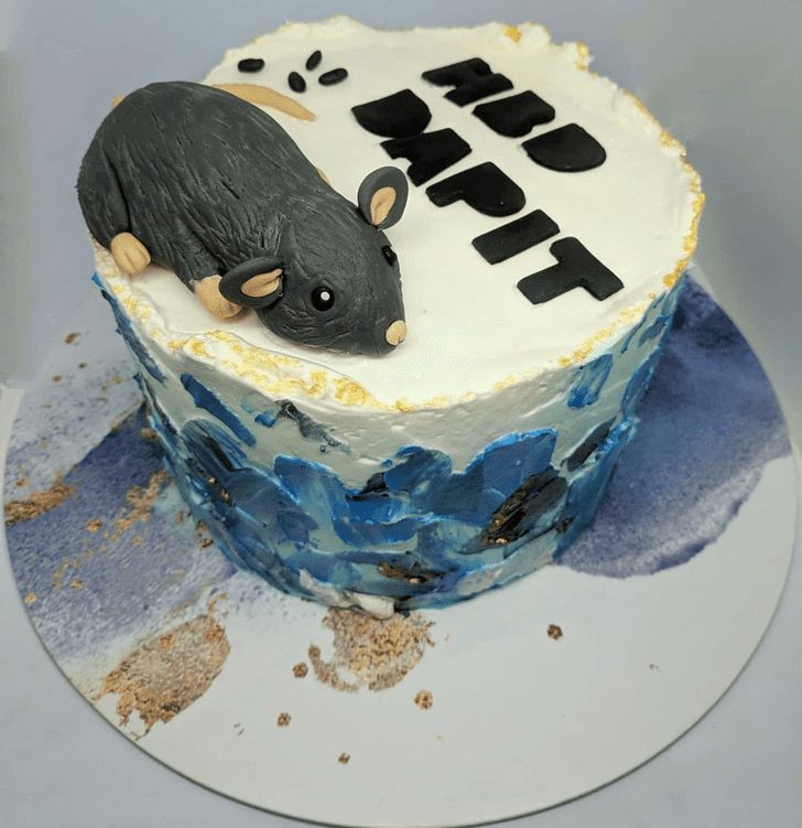Admirable Rat Cake Design