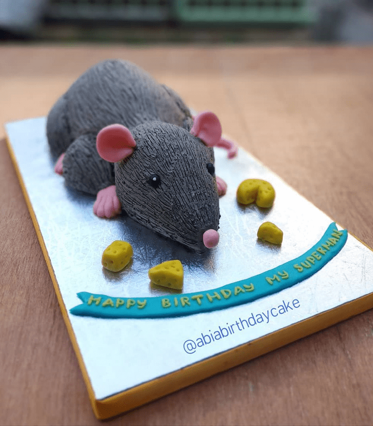 Adorable Rat Cake