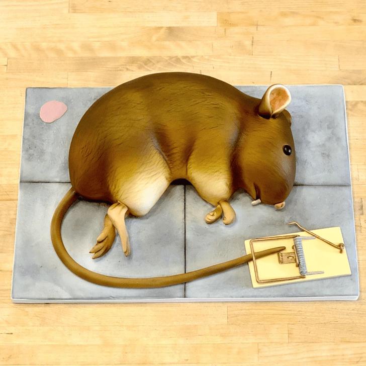 Angelic Rat Cake