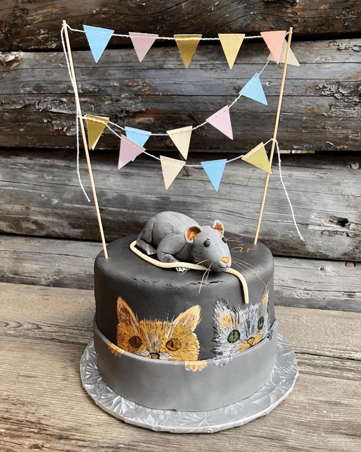Appealing Rat Cake