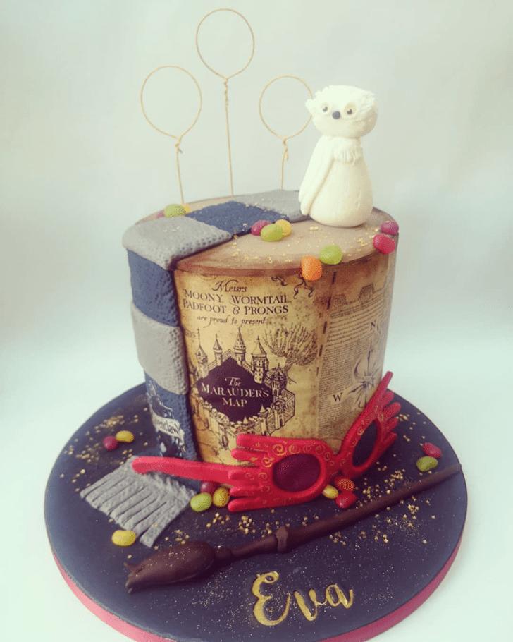 Charming Ravenclaw Cake