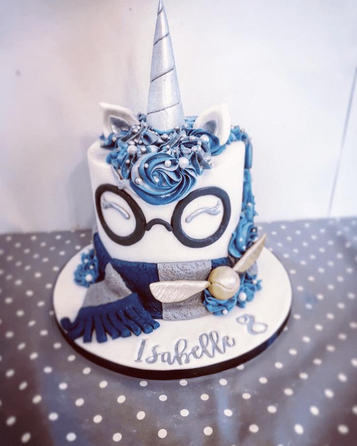 Classy Ravenclaw Cake