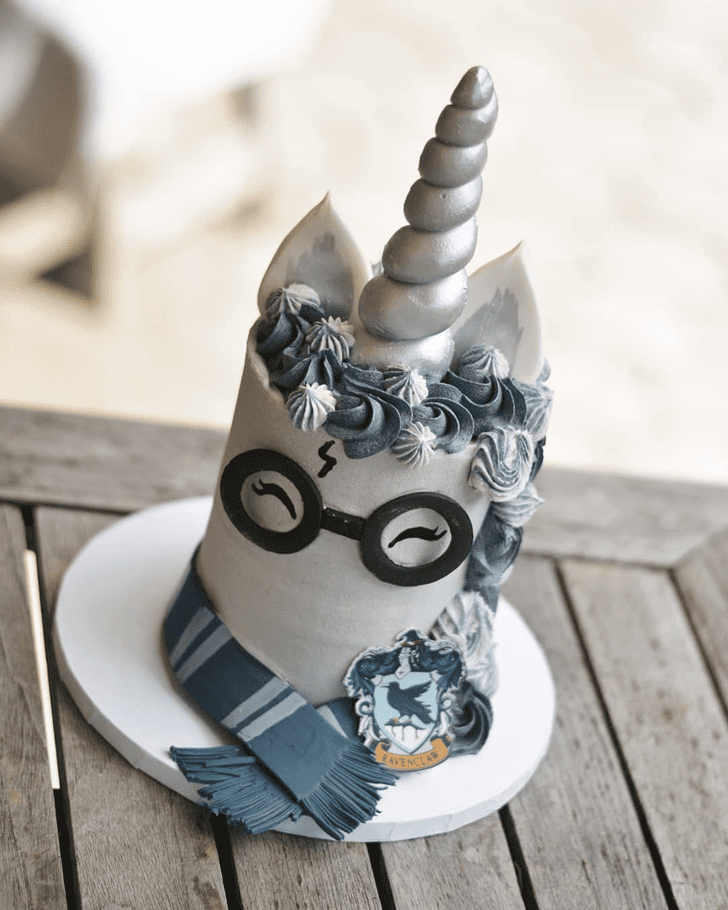 Delightful Ravenclaw Cake