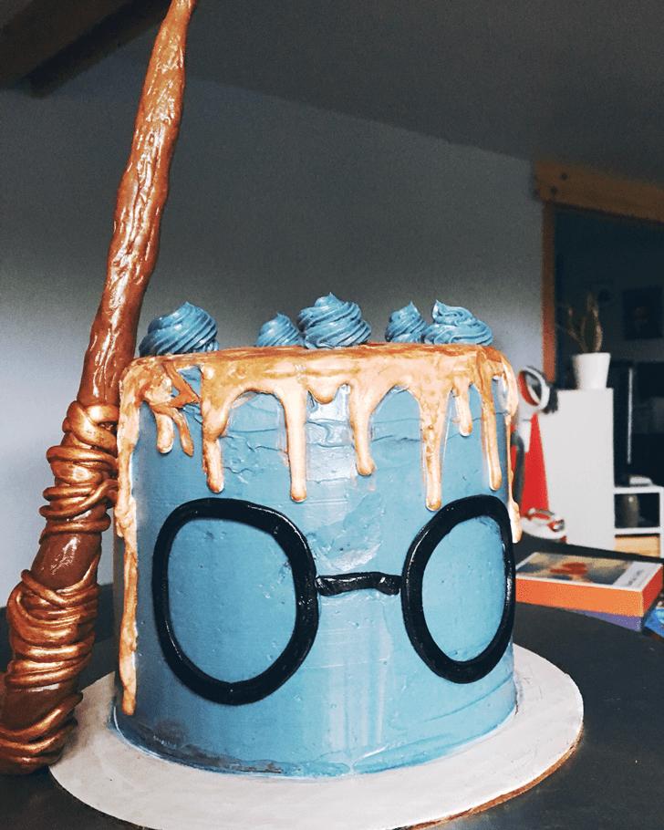 Elegant Ravenclaw Cake
