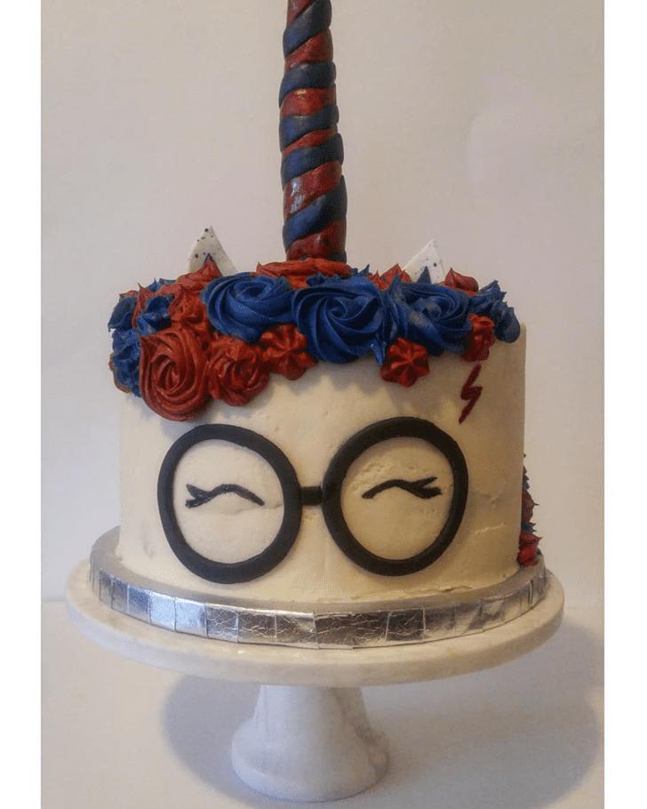 Enticing Ravenclaw Cake