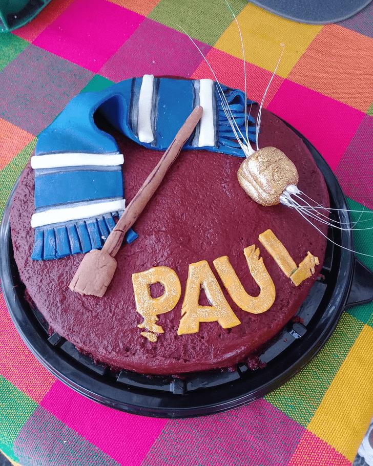 Graceful Ravenclaw Cake