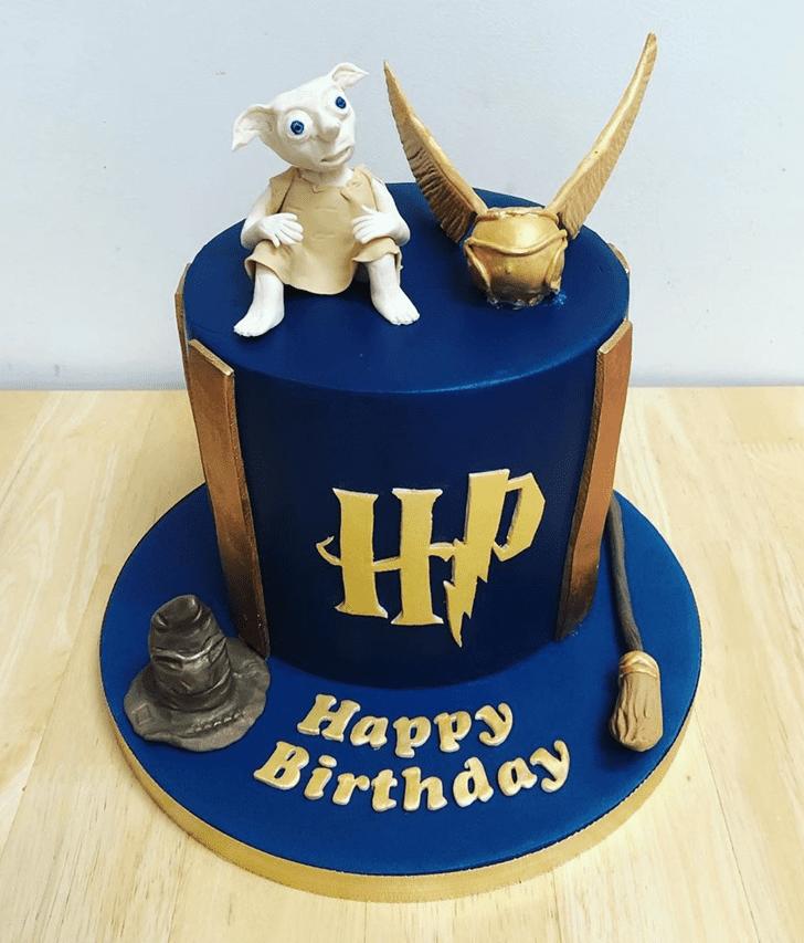 Handsome Ravenclaw Cake