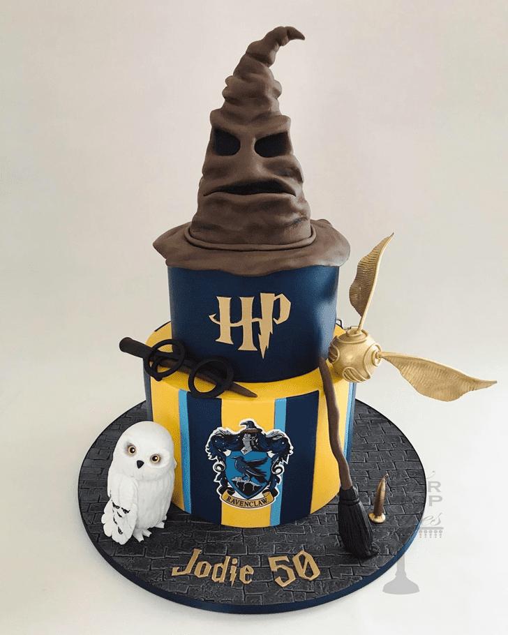 Inviting Ravenclaw Cake