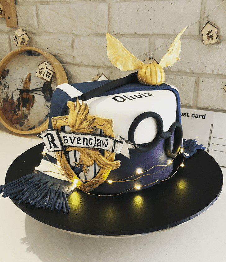 Magnificent Ravenclaw Cake