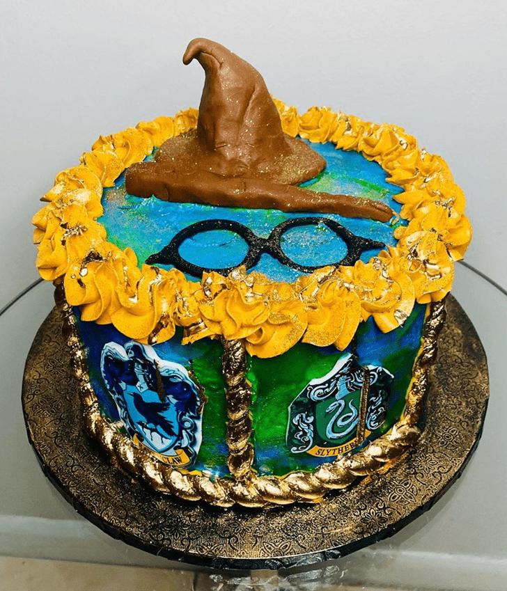 Mesmeric Ravenclaw Cake