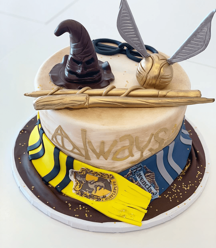 Pleasing Ravenclaw Cake