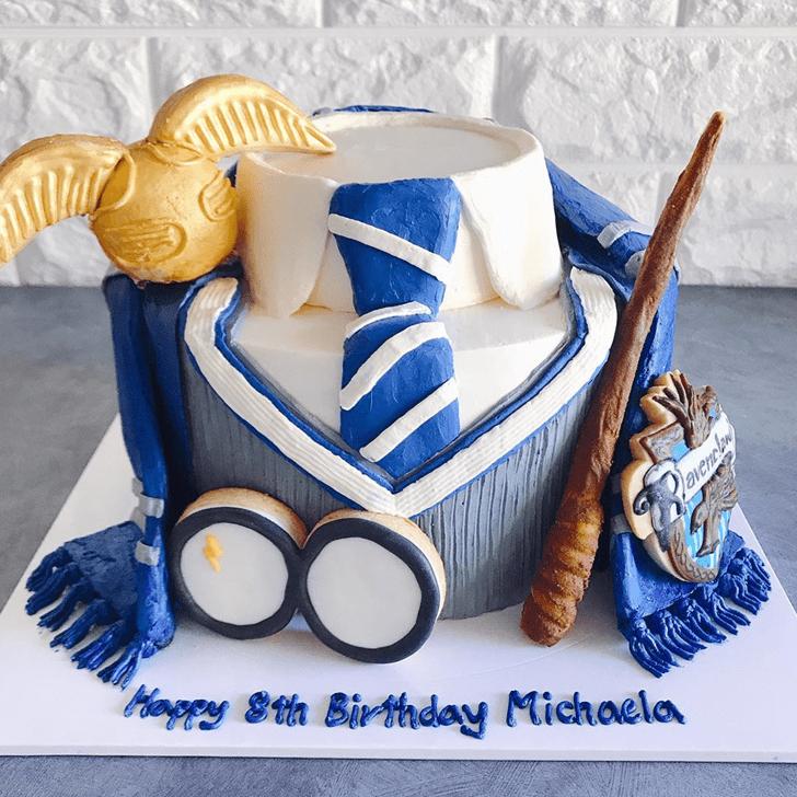 Pretty Ravenclaw Cake