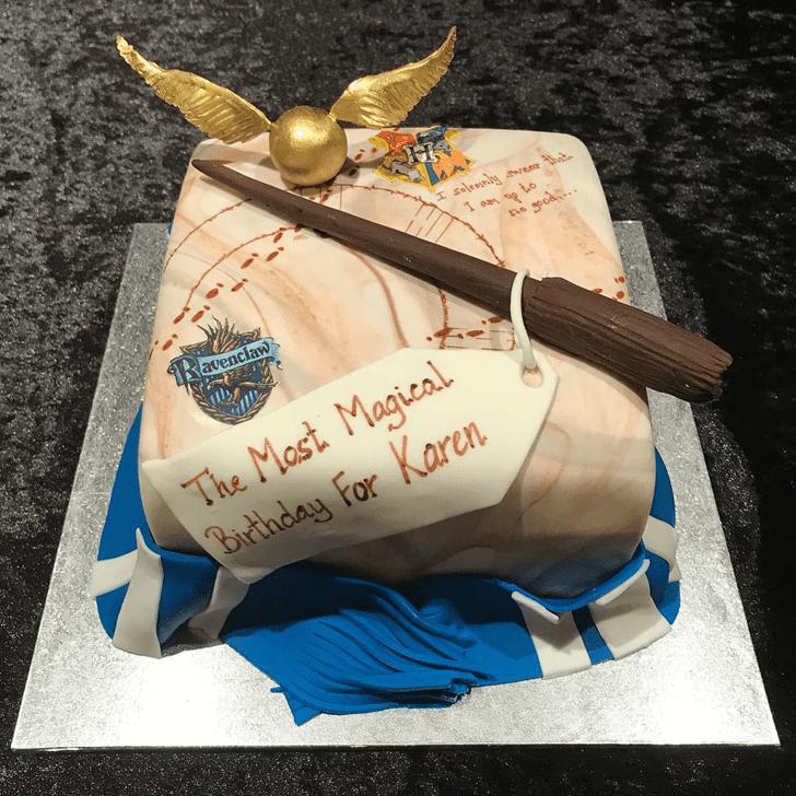 Shapely Ravenclaw Cake