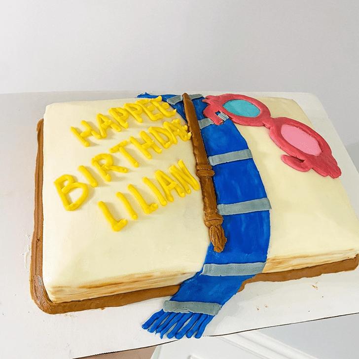 Superb Ravenclaw Cake