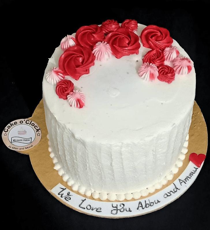 Admirable Red Velvet Cake Design