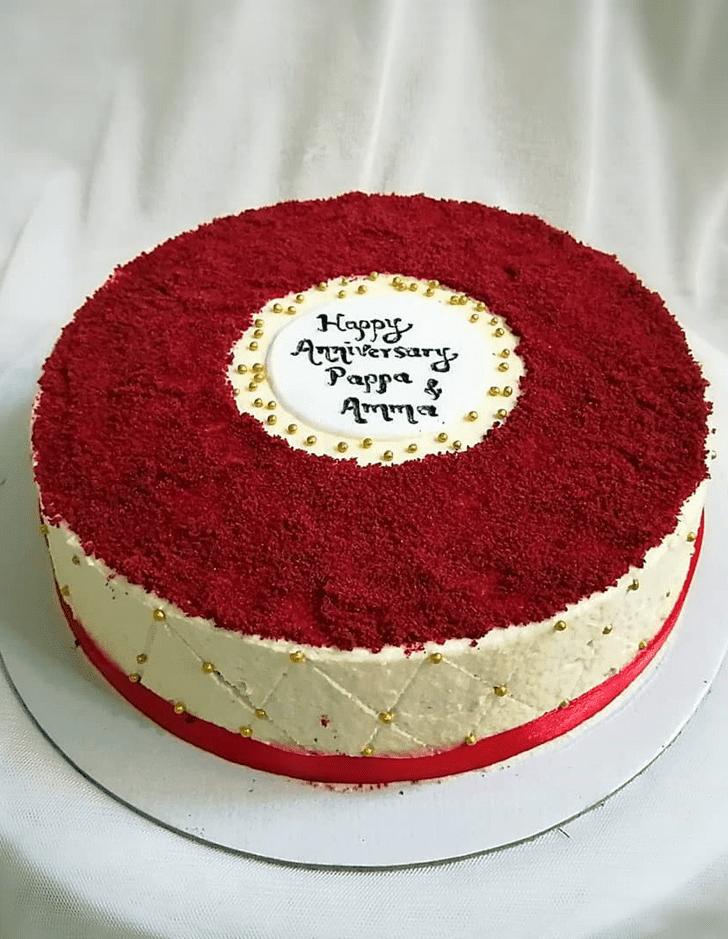 Adorable Red Velvet Cake
