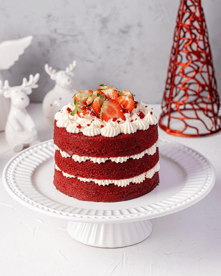 Appealing Red Velvet Cake