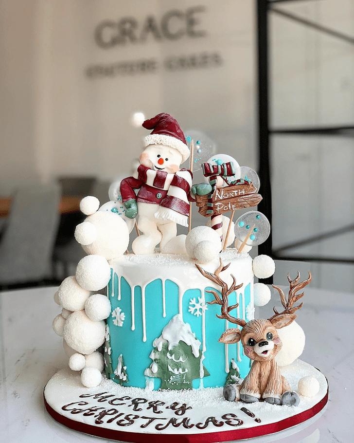 Excellent Reindeer Cake