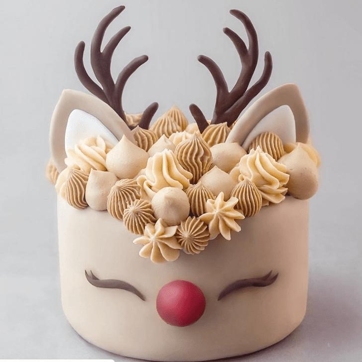 Fair Reindeer Cake