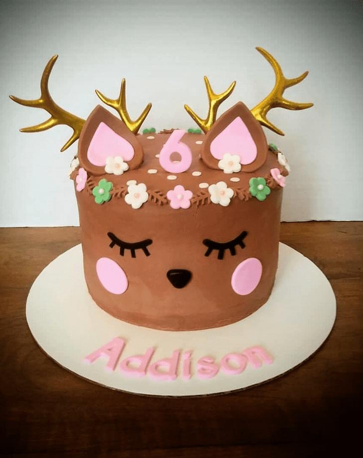 Fetching Reindeer Cake