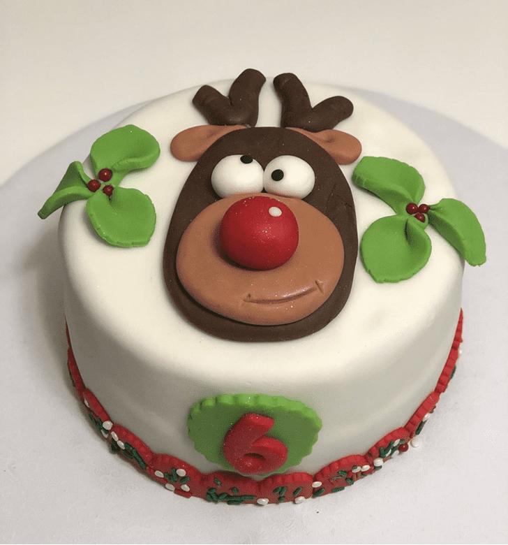 Ravishing Reindeer Cake