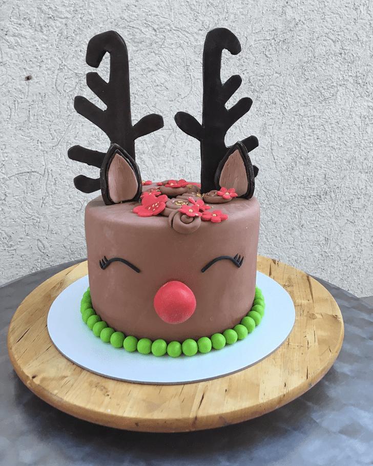 Refined Reindeer Cake
