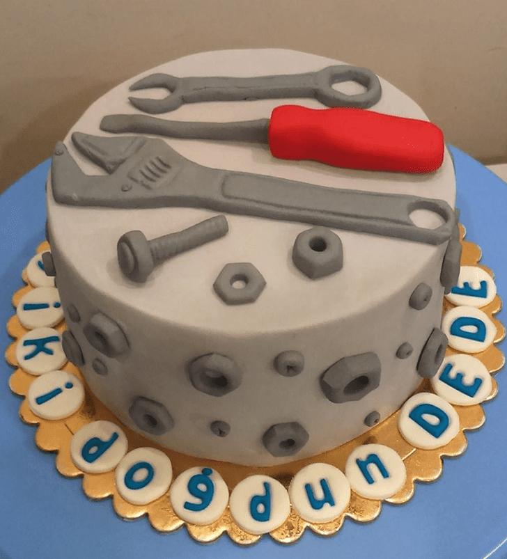 Bewitching Repair Man Cake