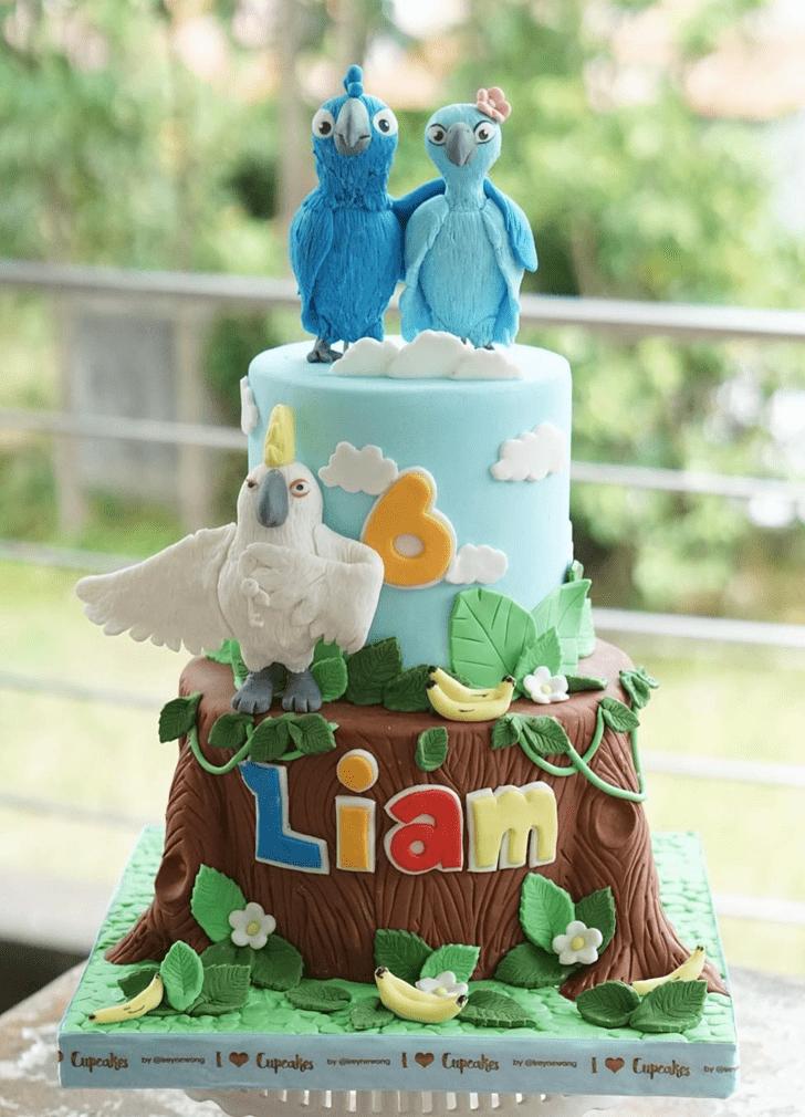 Admirable Rio Cake Design