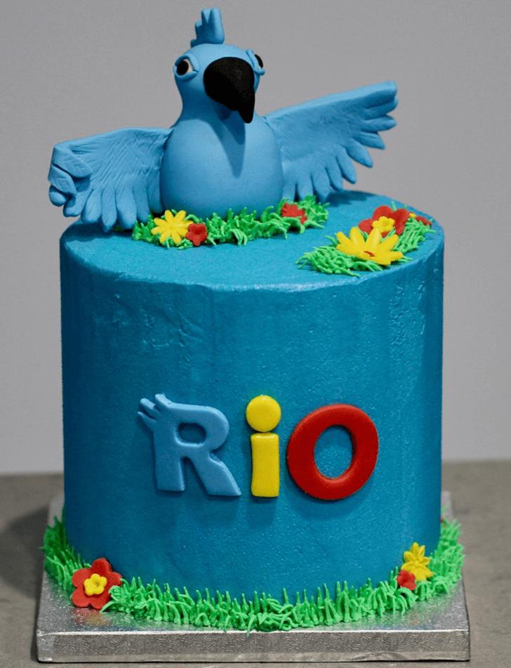 Adorable Rio Cake