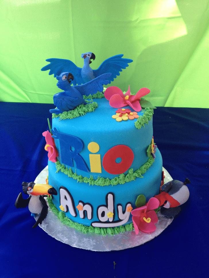 Appealing Rio Cake