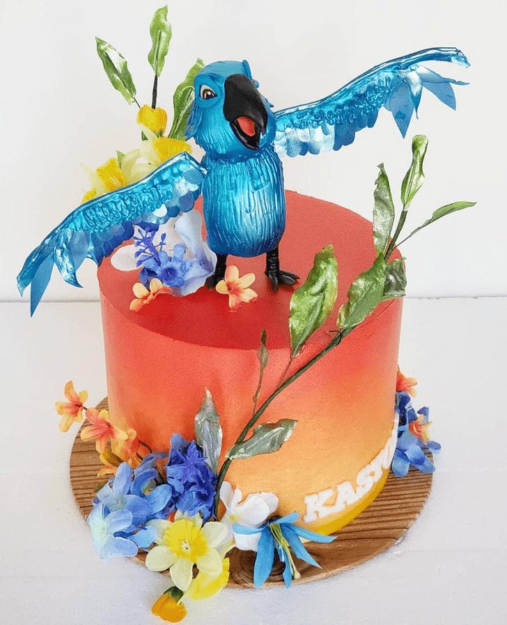 Elegant Rio Cake