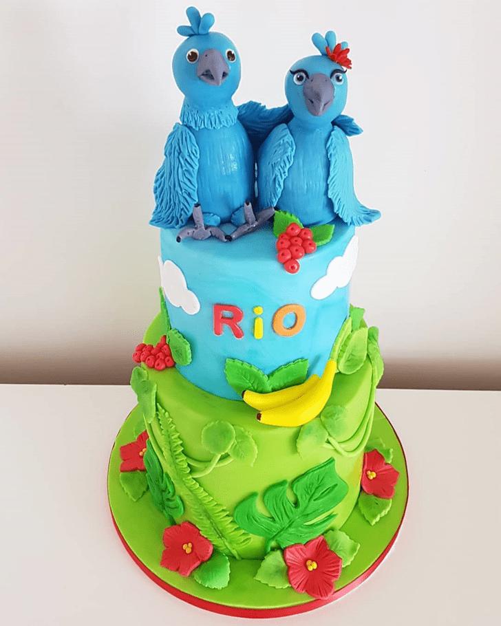 Graceful Rio Cake