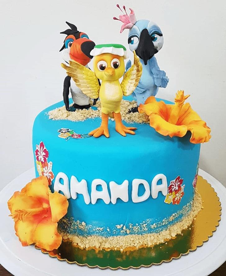 Lovely Rio Cake Design