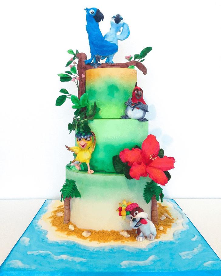 Mesmeric Rio Cake