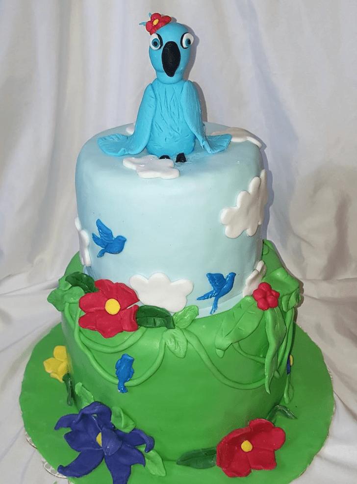Shapely Rio Cake