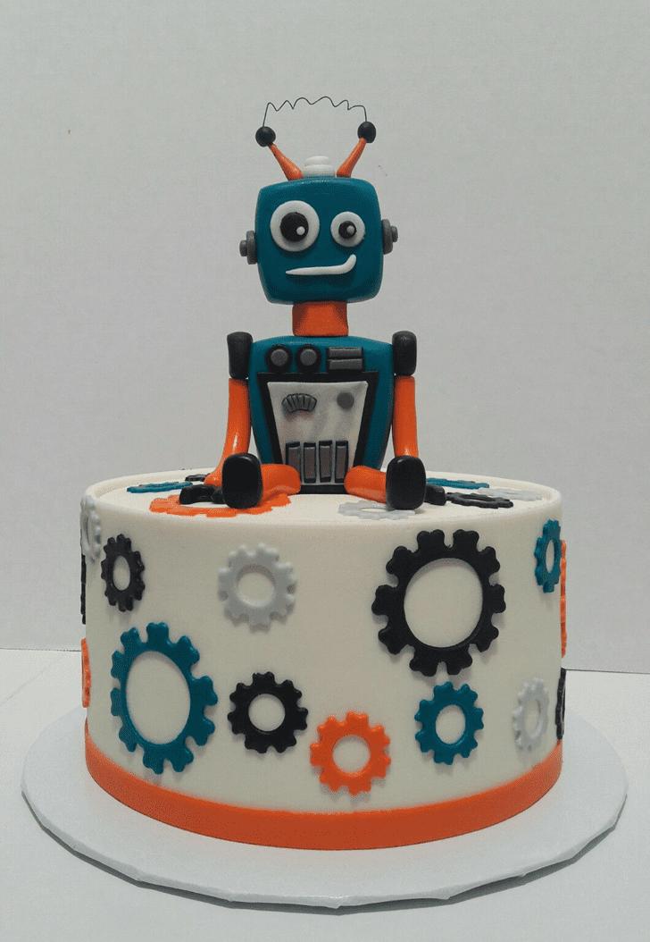 Appealing Robots Cake