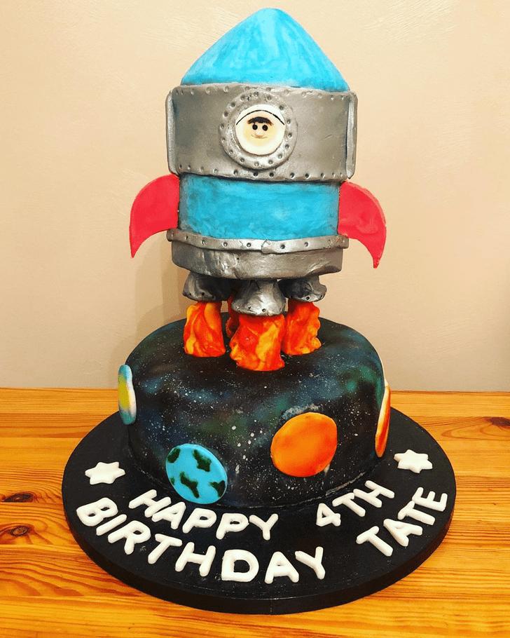 Adorable Rocket Cake